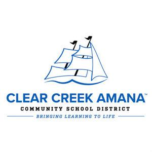 Halverson Photography School Photographer Iowa City District Clear Creek Amana logo