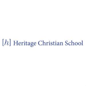 Halverson Photography School Photographer Iowa City District Heritage Christian logo