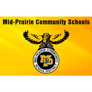 Halverson Photography School Photographer Iowa City District Mid-Prairie Community Schools logo