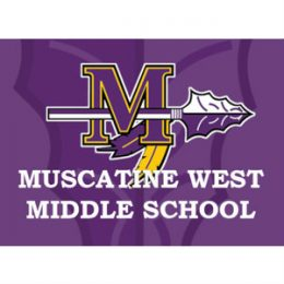 Halverson Photography School Photographer Iowa City District Muscatine West Middle School logo