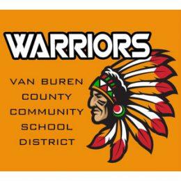 Halverson Photography School Photographer Iowa City District Van Buren Community Schools logo
