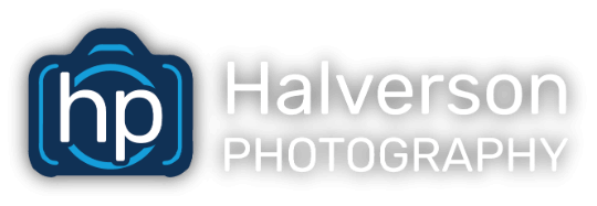 Halverson Photography School Photographer Iowa City logo shadow